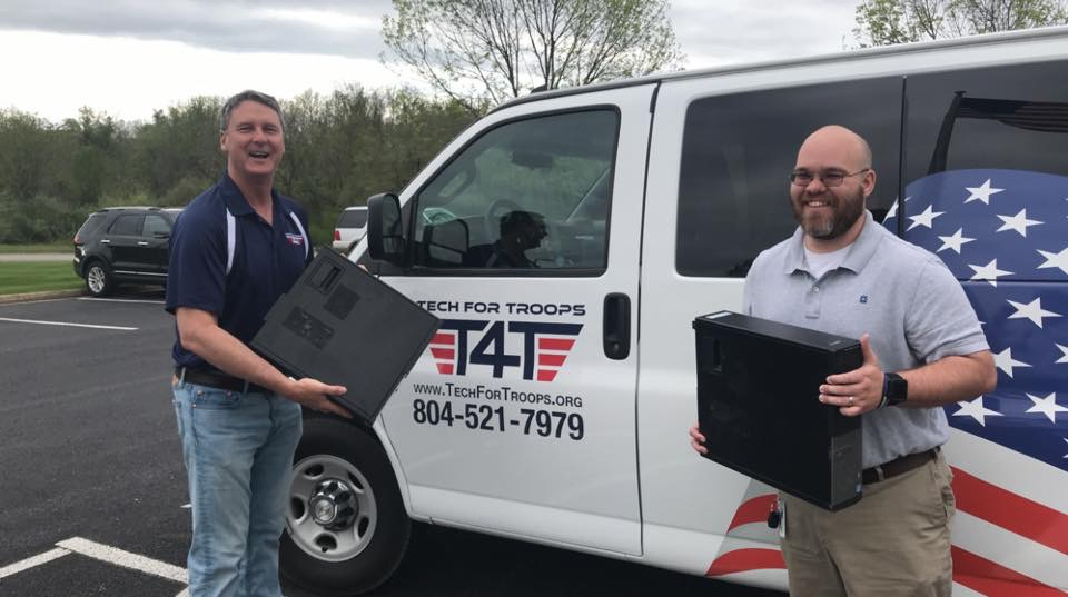 Tech For Troops Van | Serving Vets Nationwide