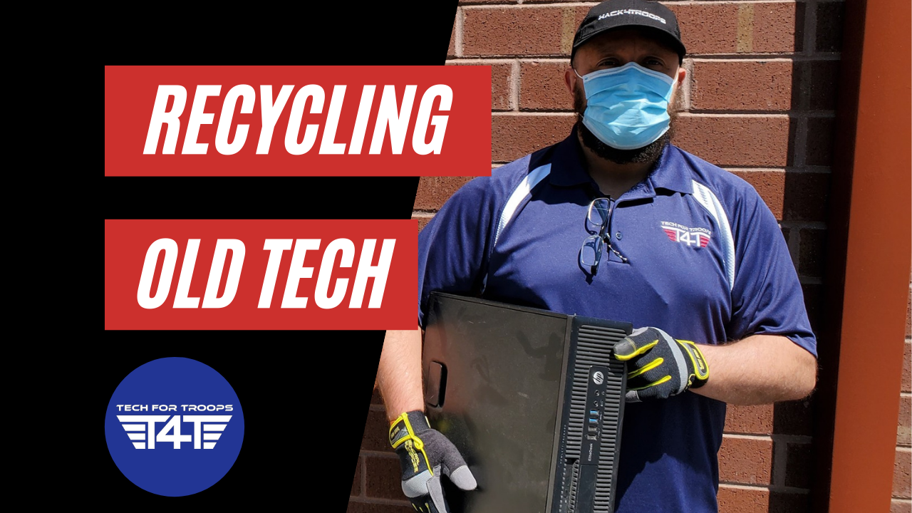 Recycling Tech with Tech For Troops