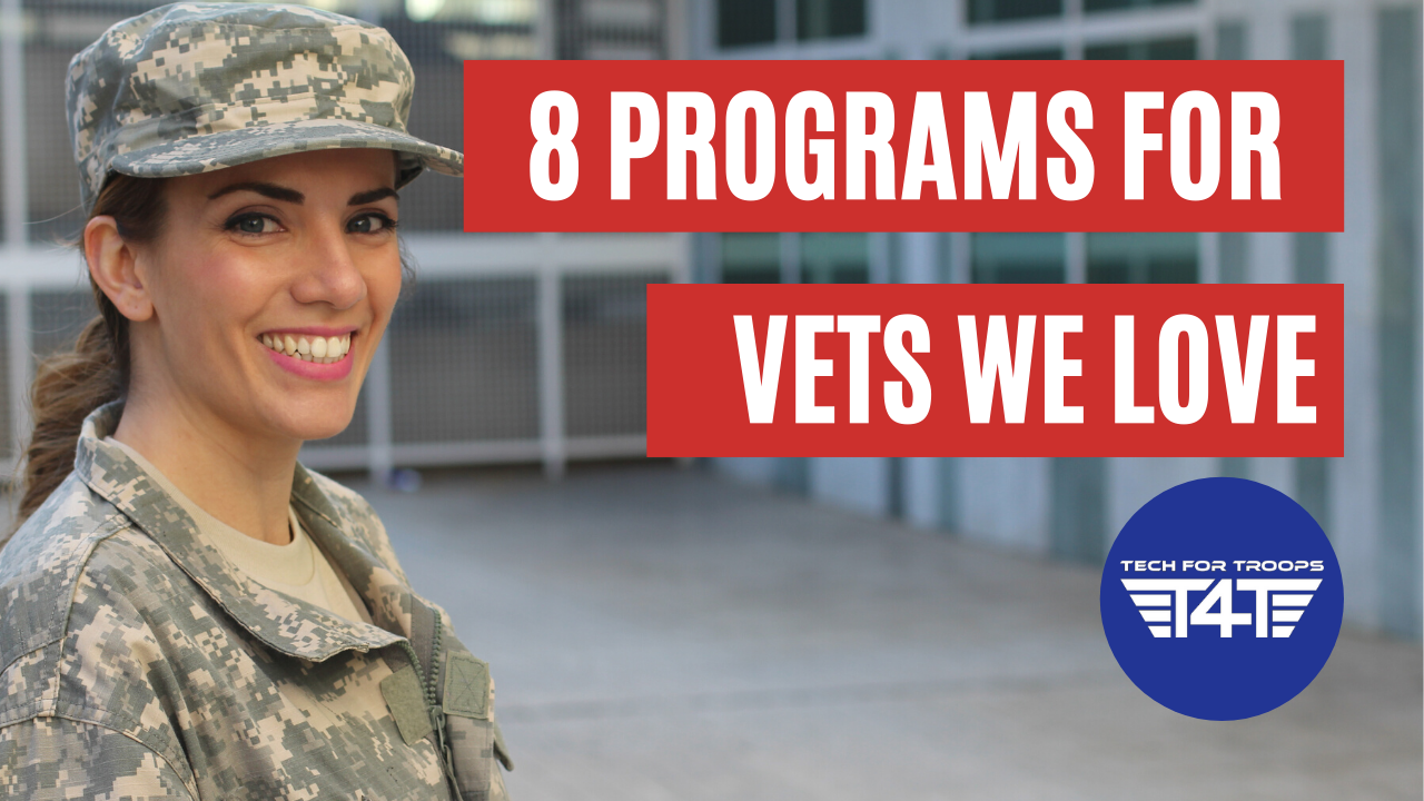 Featured image: 8 programs for vets we love